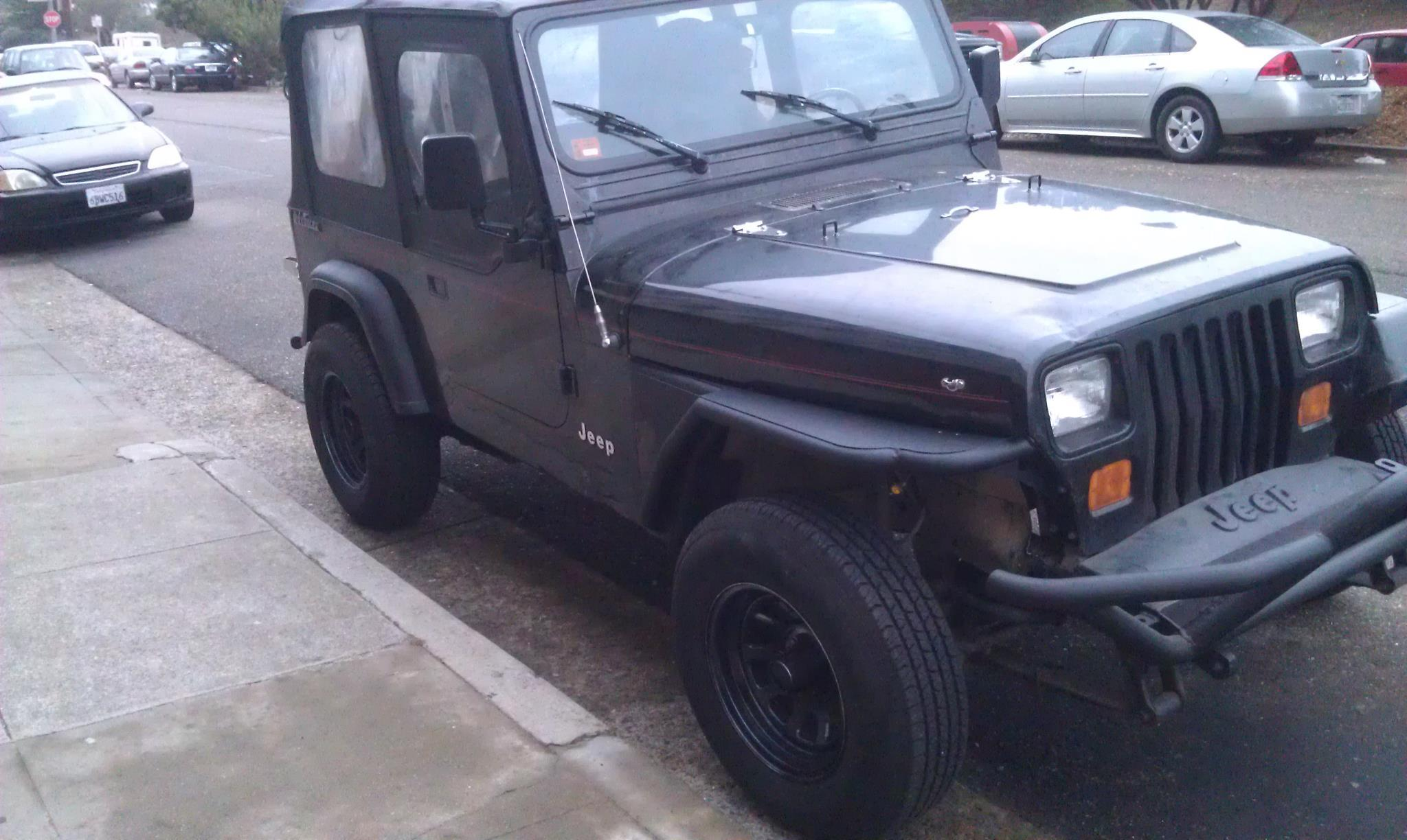 Topic Jeep Yj Build