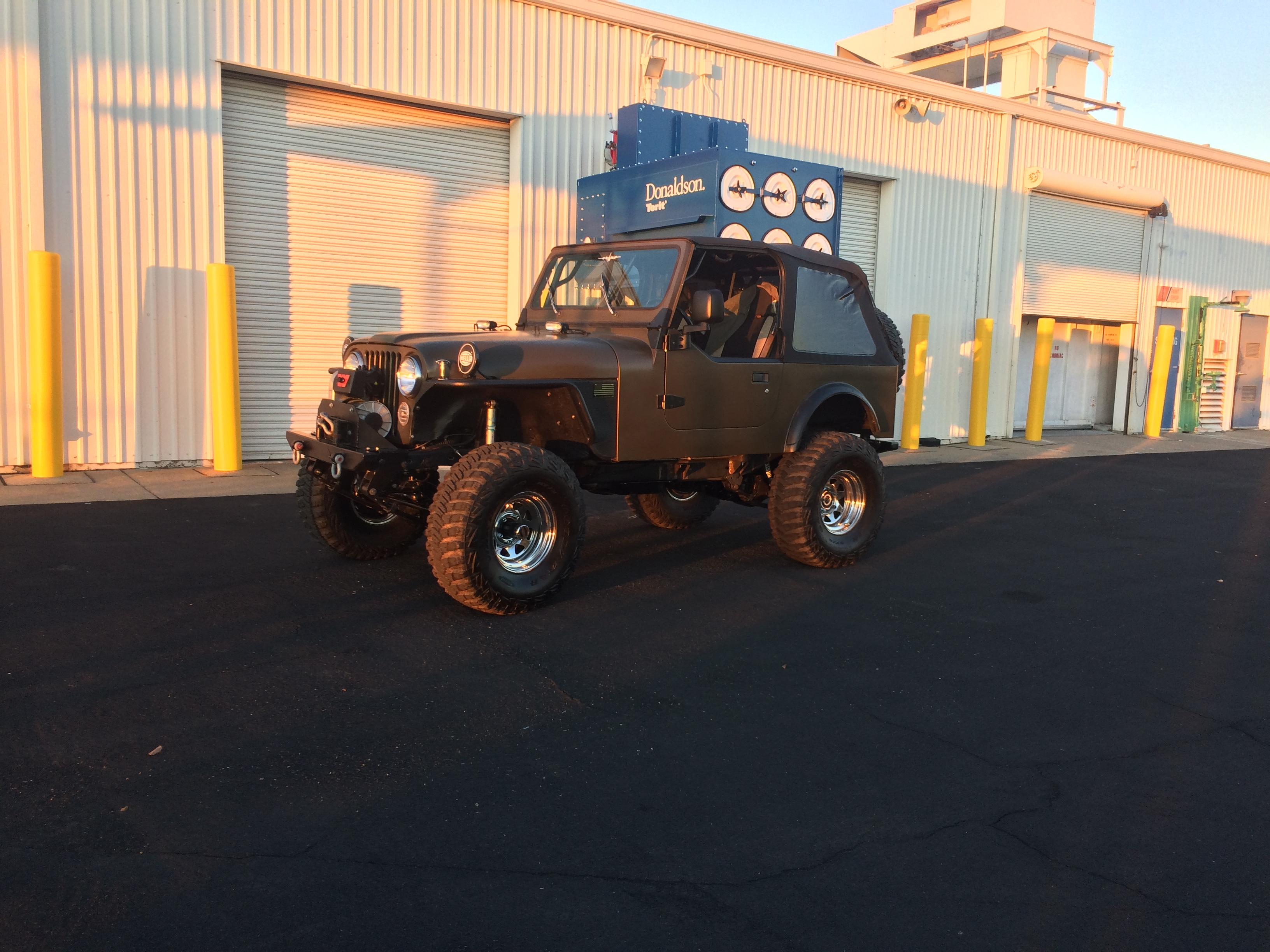 The jeep as it is now